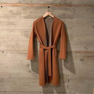 Vince Reversible Wool Cashmere Coat
